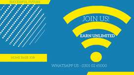 We are looking for qualified person for online data entry work