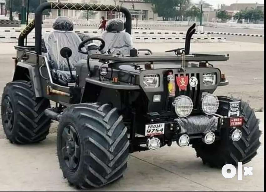 Rahul jeep modified- All type of open modified jeep Deliver All india
