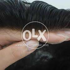 Front lace hair system for men