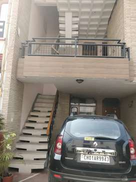 Independent One BHk set for small family sector 43 A Chandigarh