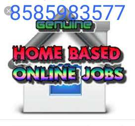 Computer operator job/ pdf to MS- word offline work/home based data e