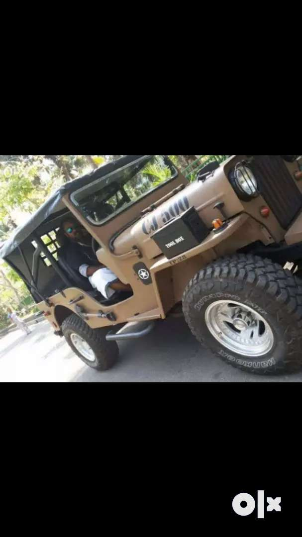 Modified jeep mahindra 0