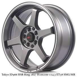 velg TOKYO JD966 HSR R16X7 H10X100-114,3 ET38 SMG/MR