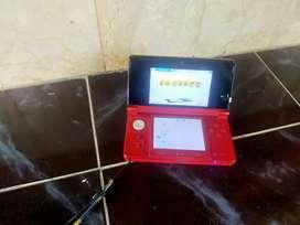 Nintendo 3ds Reguler not xl  warna merah