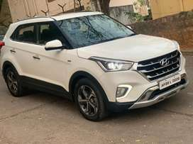 Hyundai Creta 2019 Diesel Auto transmission Sunroof Well Maintained