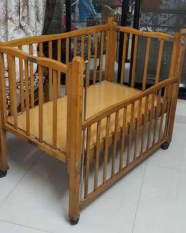 Wooden Crib for Child