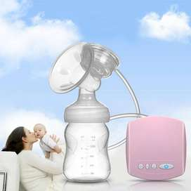 Automatic Breast Pump Electrical With Milk Bottle Baby Breast Feeding
