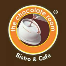 The chocolate room cafe in service