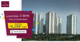 HMDA Approved Project spread across in 14 Towers with 32 Foors each.