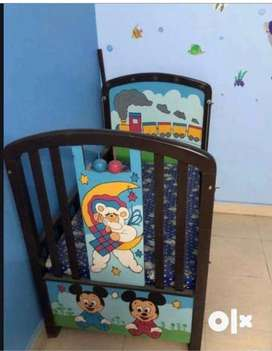 Baby cot for 1 month - 6 years