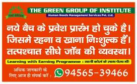 Learning with Earning Program