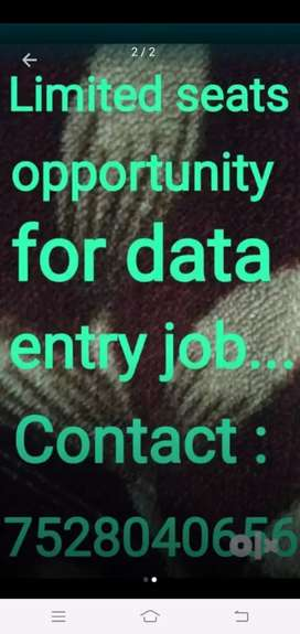 Home based part time job are available