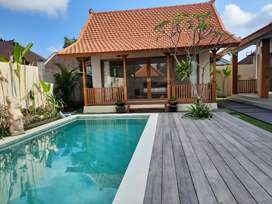 For Rent Brand New 3 Bedrooms Joglo Villa in Canggu