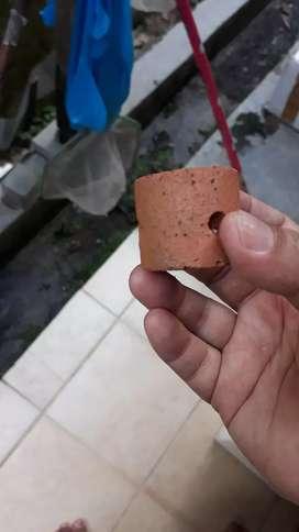 Pot aquascape tanah liat