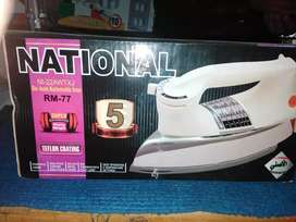 National iron warranty 5 years khrb hone pr new iron mily gi