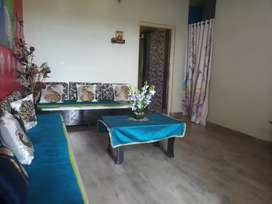 2 - BHK Ready-to-move flat with full renovated and semi-furnished.