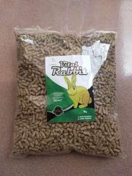 Makanan kelinci alternatif kura kura  VITAL RABBIT Repack 1kg