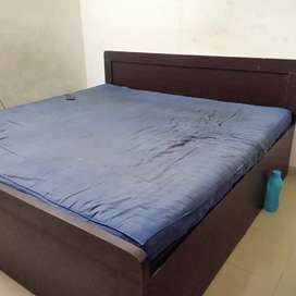 "6*6 double Bed with 6"" Height Matress"