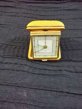 Germany Vendor antique table clock vintage