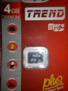 TREND MICRO SD  4 GB MEMORYCARD
