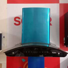 kitchen chimney auto clean touch control Calix brand