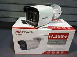 Cctv turbo HD 2.0 mega hikvision sangat jelas siap pantau hp anda