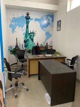 Office space with already set up for immigration  company