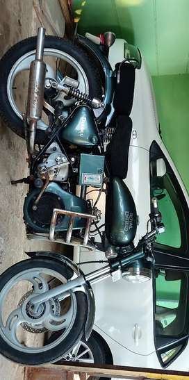 Royal Enfield Diesel Bullet with decent and perfect maintenance.