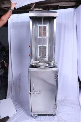 Chicken Shawarma Machine Half Cabinet