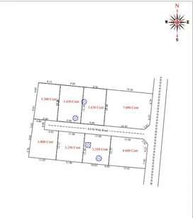 House plots in kallathode 6.25 lakh