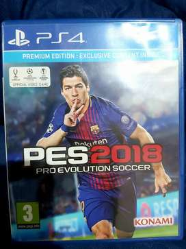 CD Game Original PS4 Pro Evolution Soccer 2018