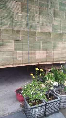 Jual tirai bambu rampal