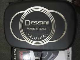 Buy Original Double Sided Grill Pan 36cm Dessini Grill Pan-COD