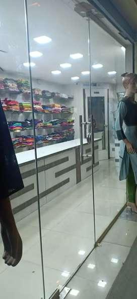 For sale textile shop