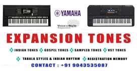 Yamaha keyboard tones