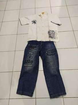 Celana jeans dan hem