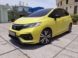 Honda Jazz RS 1.5 At 2018 pajak panjang Masih Waranty Siap Pakai