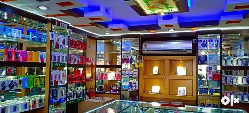 fully frunished shop for sell