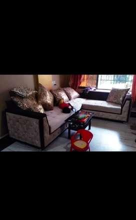 L shaped sofa. Kalyan west