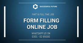 Data Entry online job offered by authentic BFES Company