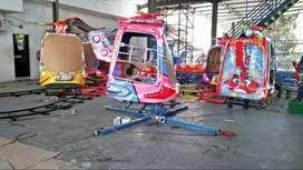 mainan anak kereta mini panggung odong komedi putar helikopter 11