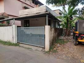Single storied house for sale at Irimpanam, Seaport-Airport road