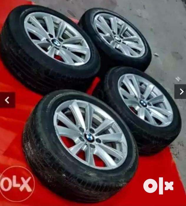 BMW 5 series f10520d 17 alloys with tyres macwheel 0