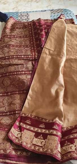 Pur silk saree