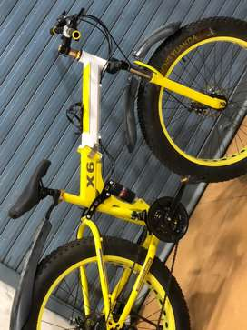 New fat tyre foldable bicycle sale