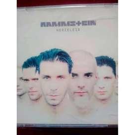 CD RAMMSTEIN HERZELEID IMPORT ORIGINAL