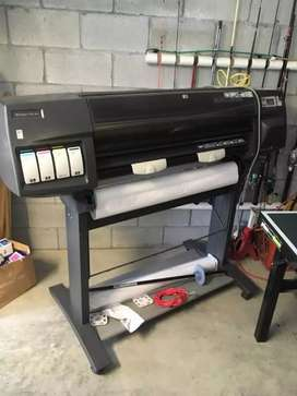 Hp designjet 1050 color plotter size 36inch avilable for sale.