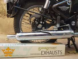 Royal Enfield Stock Exhaust silencer