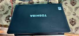 TOSHIBA LAPTOP 15.6 WITH 4 GB & 320 GB