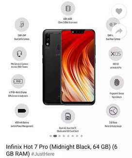 Infinix hot 7 pro very well condition